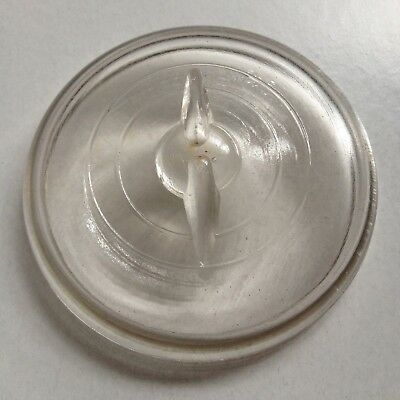 """Glass Ball Mason Jar Lids Covers For Wire Bale Jars W/ 2.75""""d Pint Or Qt. Top"""