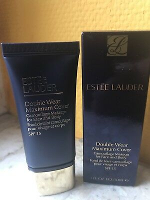 Estée Lauder Double Wear Maximum Cover 1C1 Cool Bone  30 ml neu OVP