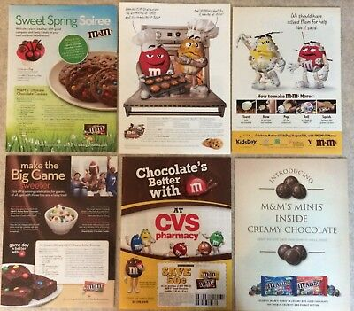 1997 - 2013 M&M's 12 Various Ads - Green Desire, Military, Can't Resist, CVS +