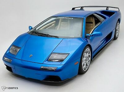 Lamborghini Diablo 6.0 VT New Clutch - 1 of Only 2 Finished In Monterey Blue - Major Service Completed -