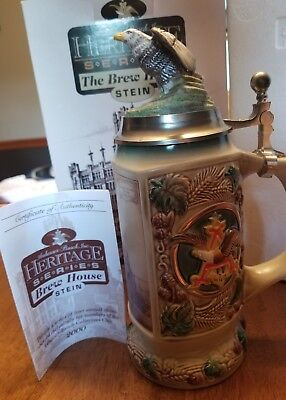 Anheuser Busch stein CB16 Heritage Series beer collectible