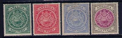 Antigua early stamps SC# 31-2;34;36 MH LOT, CV:$43.00