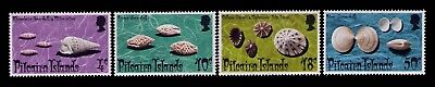 Pitcairn Islands 1974 QEII,Horn Shells SC# 137-40 Cpl.MLH set,CV:8.35