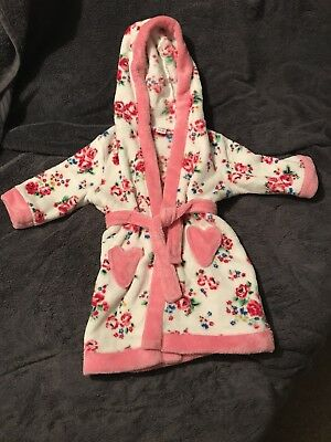 Girls Dressing Gown 12-18 Months