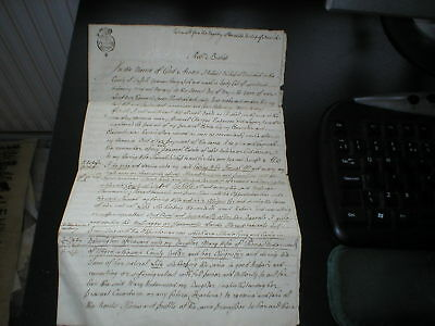 1762 Bishop of Norwich, Last Will and Testimony, Antique Document