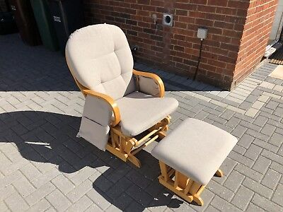 Nursing Chair And Footstool - Gliding/Rocking