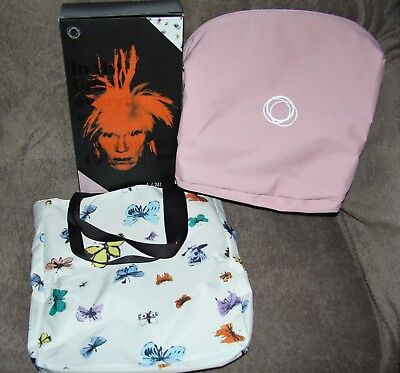 Rare Brand New Bugaboo Bee Andy Warhol Butterflies Special Edition Extendable!