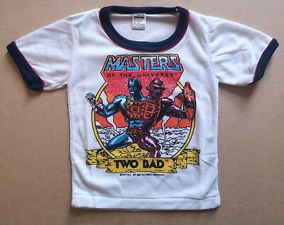 Rare Vintage Retro MASTERS OF THE UNIVERSE Kids/Baby T-Shirt 12-18 months