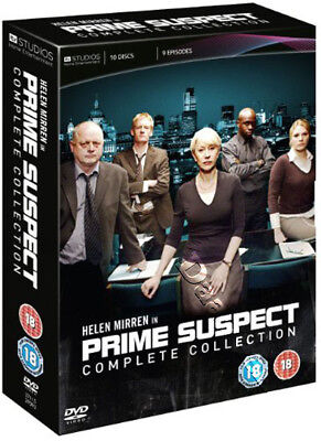Prime Suspect - Complete Collection NEW PAL Series Cult 10-DVD Set Helen Mirren