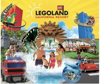 LEGOLAND California & SEA LIFE Hopper Tickets Promo Tool Discount ~ 2nd DAY FREE