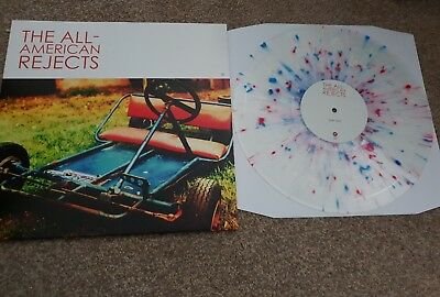 Limited all american rejects splatter vinyl in excellent condition