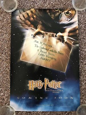 Harry Potter And The Philosopher's Stone A4 Privet Drive Letter Movie Poster B