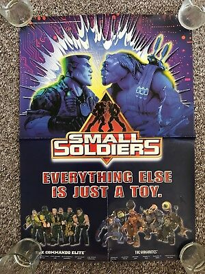Small Soldiers 1998 Toy Film Kids Size A2 Original Movie Poster UK Dunst Jones B