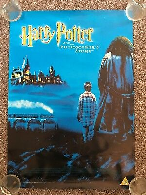 Harry Potter And The Philosopher's Stone A2 Original Store Promotional Poster B
