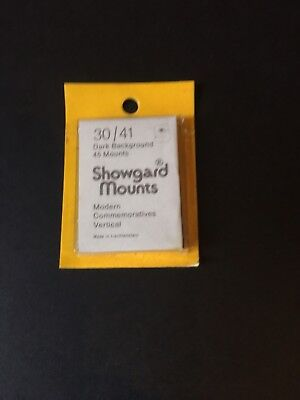 Showgard Mounts Cut to Size 30/41 Black Vertical