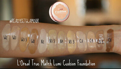 Loreal True Match Lumi Cushion Buildable Luminous Foundation (Pick Your Shade)