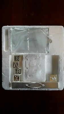 New Engraveable Silver Baby Picture Frame from Things Remembered Blocks Carriage