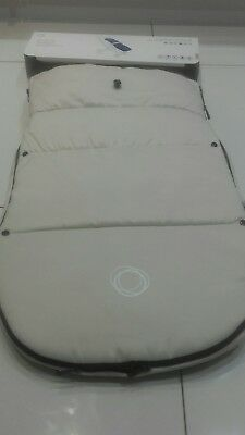 Bugaboo Universal Footmuff/cosytoes In Off White will fit all bugaboo models