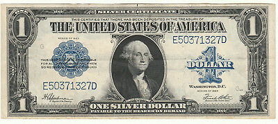 Circulated 1923 Silver Certificate--Ungraded $1 large size note #314, Fr. 237