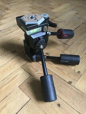 Manfrotto Professional 229 Pan & Tilt Tripod Head Incl Release Plate Barely Used
