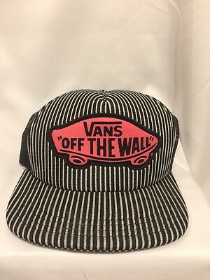bf07d893 VANS OFF THE Wall Meshed 5 Panel Hat Mens Royal Blue Soft Crown ...