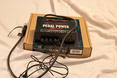 Voodoo Lab Pedal Power 2 Plus Guitar Effect Pedal Excellent Condition With Box.