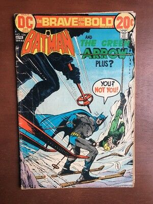 Brave and the Bold #106 (1973) 4.0 VG DC Key Issue Comic Batman Green Arrow