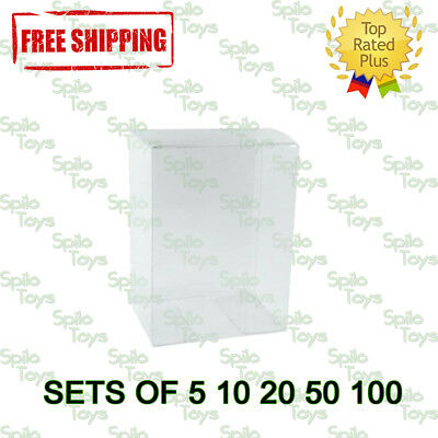 "Funko POP 4"" Vinyl Box Protector Case Clear Acid Free POP Protectors .35MM"