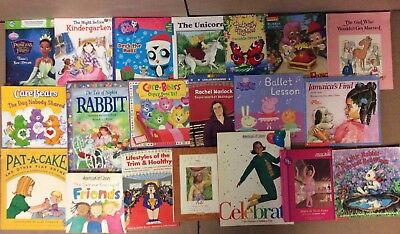 Lot of 100 K-5 Learn to Read Picture Mix Kid Children Book FOR GIRLS Library