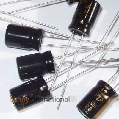 100pcs RUBYCON ZLH 47mfd 63V 47UF electrolytic Capacitor 105℃ 6X11mm