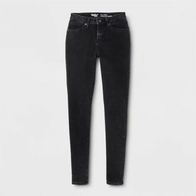 NEW! Mossimo Core Curvy Skinny Mid Rise Black Jeans LONG/TALL - Multi Sizes