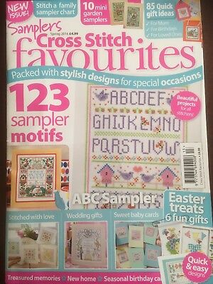 Cross Stitch Favourites Magazine Samplers Issue Spring 2016