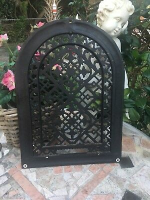 ANTIQUE Style CAST IRON Victorian Heating grate Cover Register Vent
