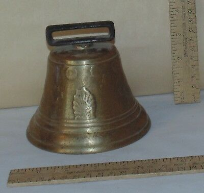 1878 SAIGNELEGIER CHIANTEL FONDEUR - Reproduction - BRASS BELL BODY - larger