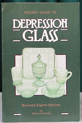 Pocket Guide to Depression Glass, Gene Florence, 8th Edition, PB