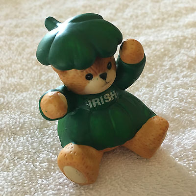 Lucy & Me St Patricks Day Irish Shamrock Bear Lucy Rigg 1994