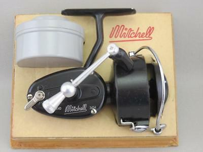 Vintage Antique Tackle Garcia Mitchell 301 Left Hand Spinning Fishing Reel