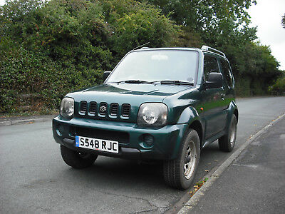 1998 Suzuki Jimny Jlx Estate For Spares Or Repair