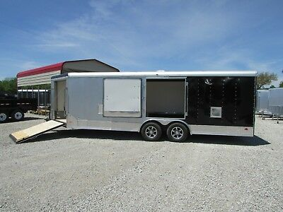 NEW 8.5 x 27 Enclosed Cargo Snowmobile Carhauler *ON SALE NOW @ DR Trailer