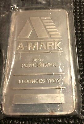 10 Oz Silver Bar - A-Mark