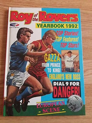Roy of The Rovers Yearbook 1992 ( Unclipped )