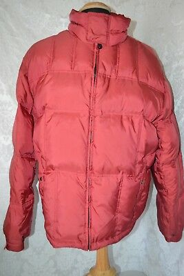 Vintage Tommy Hilfiger Men's Feather Down Red Winter Jacket Size 2XL