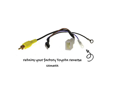 4 Pin Camera Adapter for Toyota | Retains Reverse Camera | APVTY04