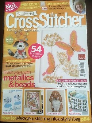 Cross Stitcher Magazine Issue 217 Christmas