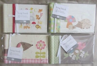 Pepper Pot Brag Book Photo Album Baby 24 Pages Set of 4 New In Packages