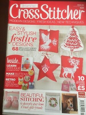 Cross Stitcher Magazine Issue 232 Christmas