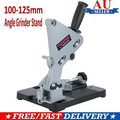 Angle Grinder Stand Grinder Holder Cutter Support Cast Iron Base 100-125mm NEW