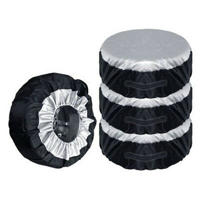 4X Tire Storage Bags Anti-Dust Tire Carry Tote Tyre Spare Cover 13-19 Inch Tire