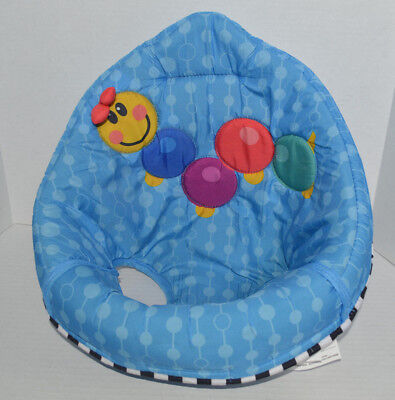 *EUC* Baby Einstein Activity Jumper Jumperoo Replacement Part~Fabric Seat Cover
