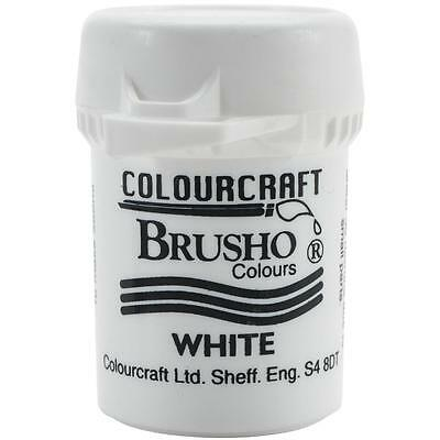 Brusho Colour Crystals - WHITE